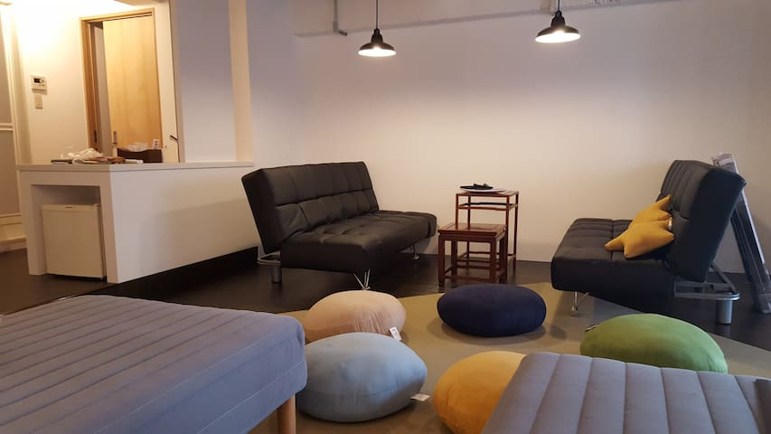 Beautiful Studio for 5/Wifi/2 min from station - Nishi-ku, Ōsaka-shi - Apto. en complejo residencial