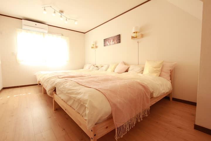 2 Bed Rooms Big House in Yokohama!WIFI☆AS675
