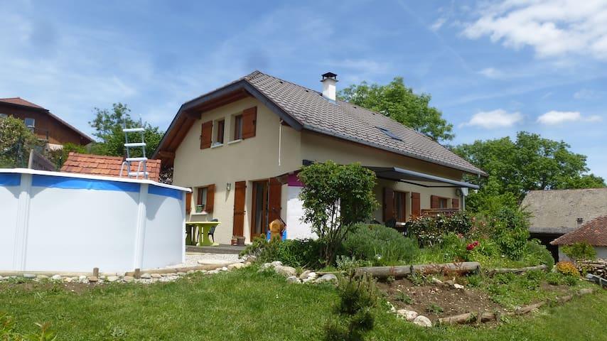 Maison au calme plein sud et vue dégagée - Nonglard - House