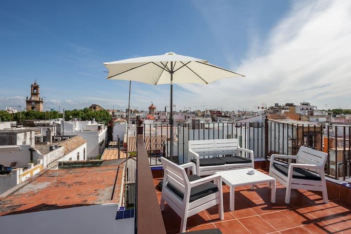 APARTAMENTO TERRAZA PRIVADA A ESTRENAR - Sevilla - Appartement