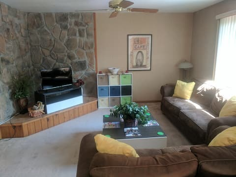 Modern Poconos Townhouse Unit in Resort Community!