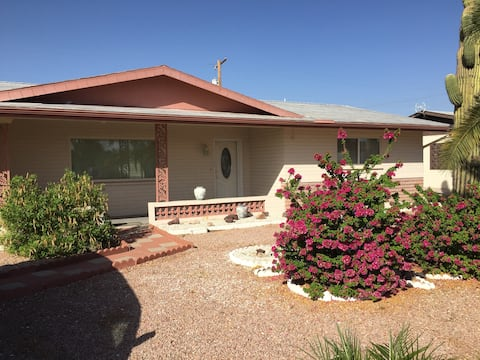 Newly updated ranch style home in a quiet 55+ area