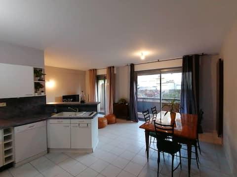 Appartement T3 de 70m2 avec garage et terrasse