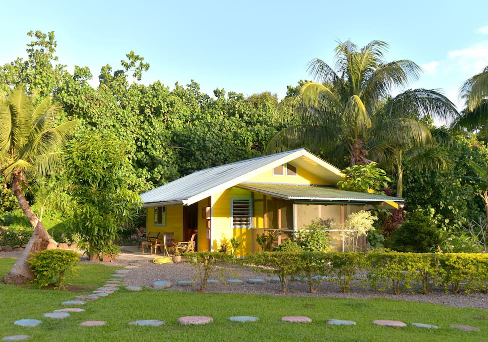Superior fare opuhi bungalow ville in affitto a ha 39 apiti for Villas polinesia