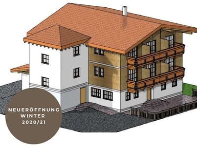 Kleines Hotel vor dem Arlberg