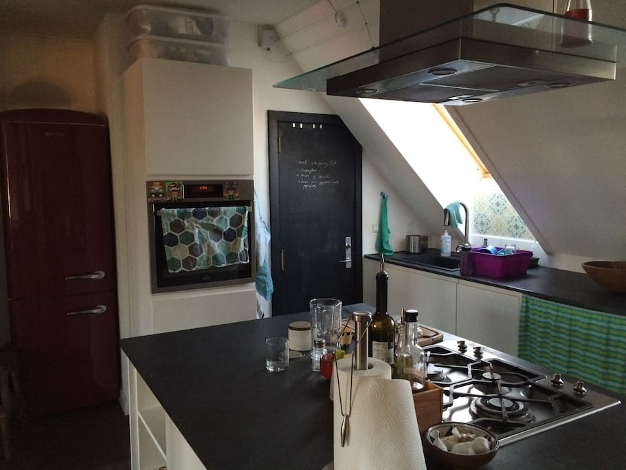 Kitchen/1 - The kitchen is equipped with all you might need, including dishwasher, oven, gas fires, kettle, food processor, washing machine and all kind of kitchen utensils
