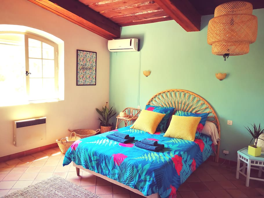 Chambre 4 double étage Tropicale