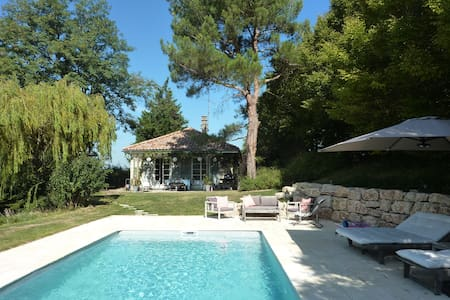 Green and refreshing paradise 20mn from Lyon - Lissieu - House