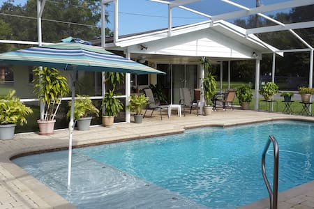 Nana's 2BR Guesthouse w/ Pool 20 Miles from Disney - Saint Cloud - 宾馆