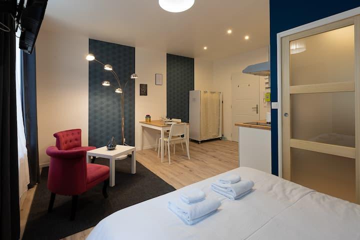 Studio-de Luxe-Salle de bain