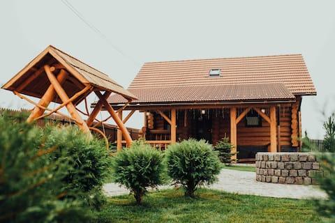 Handcrafted Transylvanian Cabin