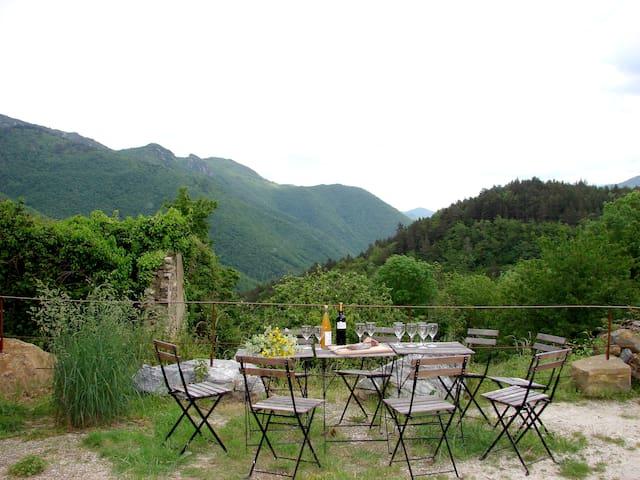 Grand gite de charme en Pays Cathare - Marsa - Ev