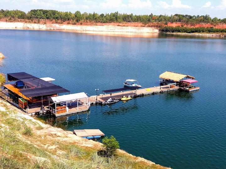 RungNara pool villa 5 rooms,Horse & Blue lake