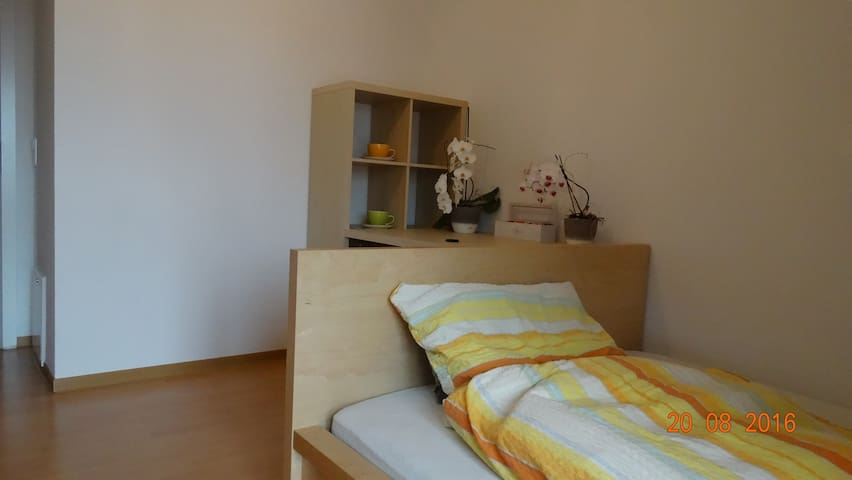 furnished room with own bathroom in top location