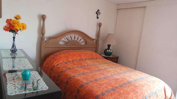 Habitación privada #2 en La Casa de los Alcatraces