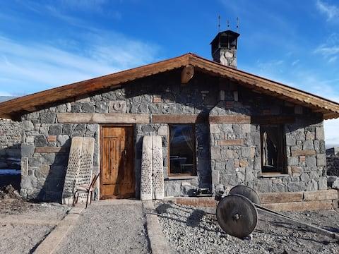 Kars'ta bir köy, corona sürecindeki en güvenli yer