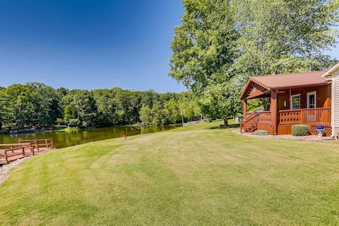 Lakeside Home near Santa Clause & Holiday World