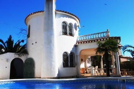 VILLA MARINA-HUTTE 002012 - Tres Calas - 別荘