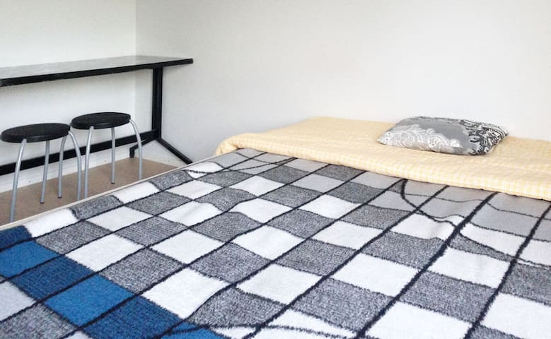 Comfortable private room in Helsinki city赫尔辛基独立卧室 - Helsinki - Appartement