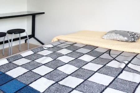 Comfortable private room in Helsinki city赫尔辛基独立卧室 - Hèlsinki - Pis