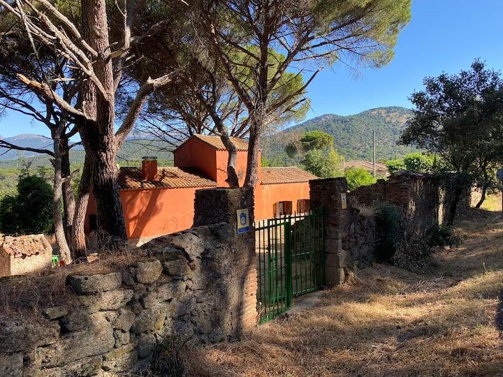 Casa en campo para desconectar en Madrid. Animales