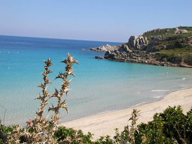 400mt to the sandy beach, garden terrace sea view - Santa Teresa Gallura - Apartment