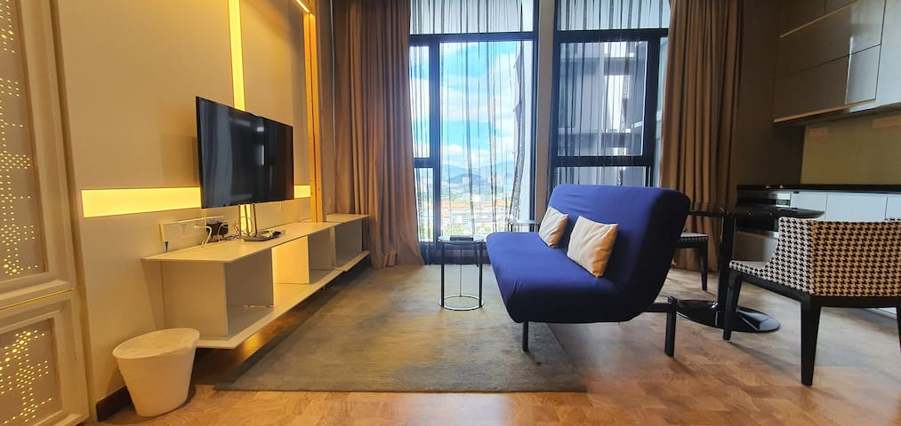 ❤️ Spacious Suite near KLCC | Netflix - Double Bed