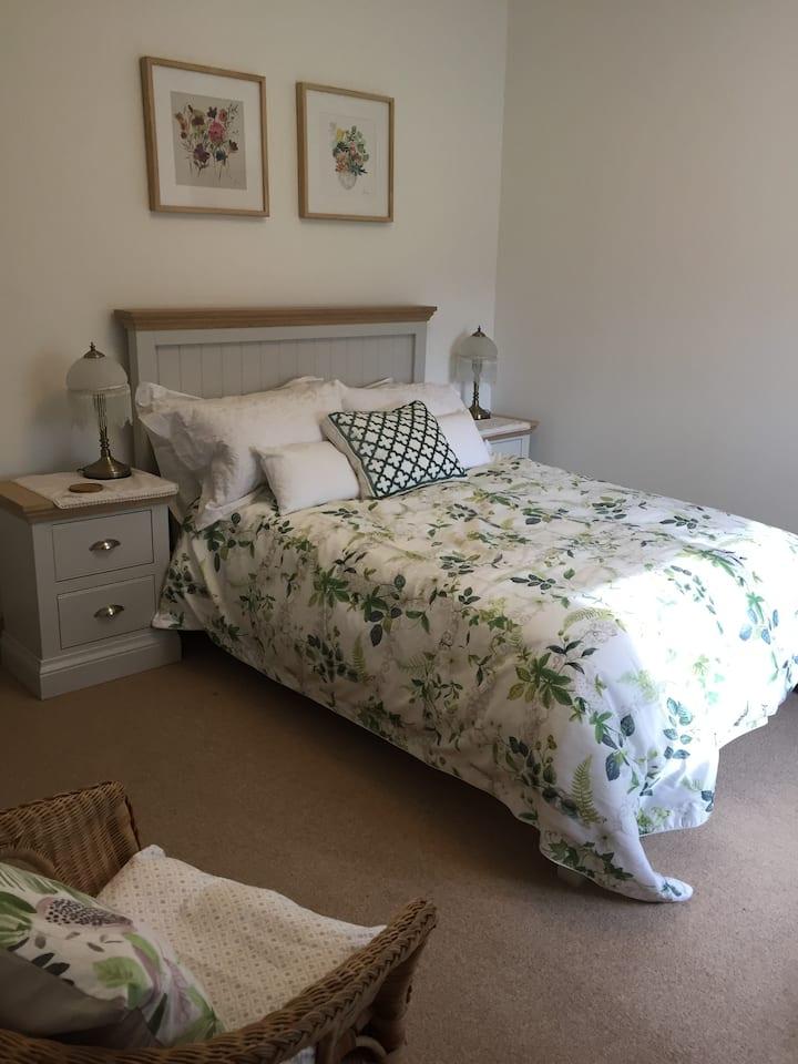 Garden Room deluxe ensuite in Somerset Farmhouse
