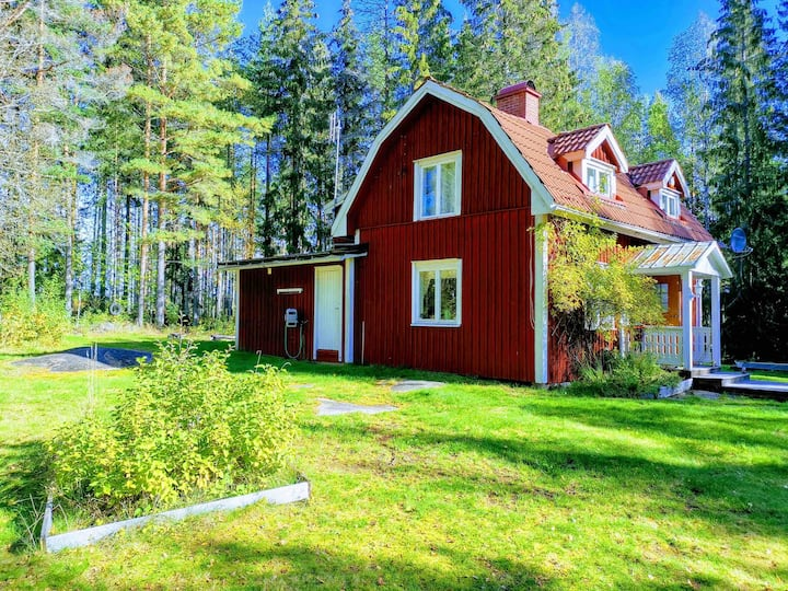 Sköyerkroken torp ved Mårbacka (Helt hus til leie)