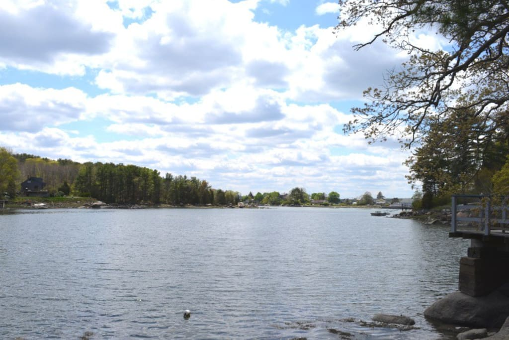 Water's Edge-Goose Cove is just outside your door!