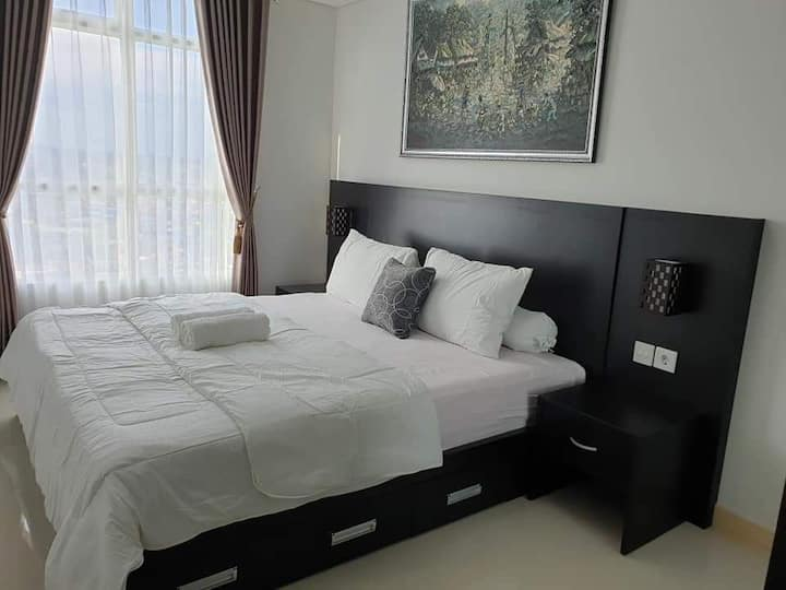 20 FB Apartemen Borneo Bay City 1BR City View.