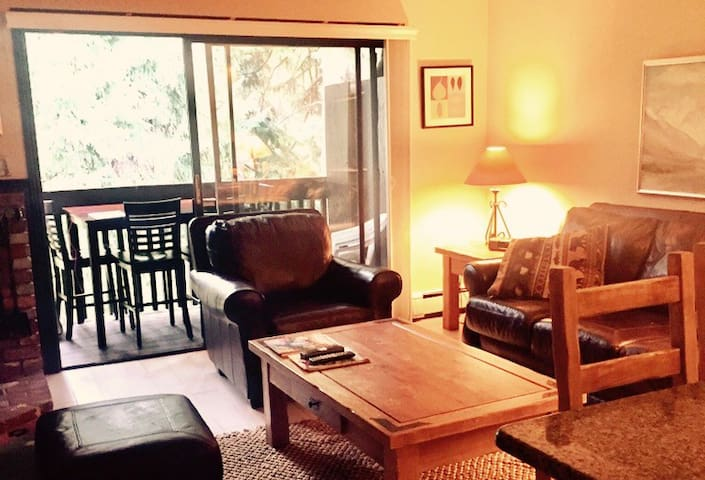 Beautiful condo East Vail,free bus, pool, hot tub