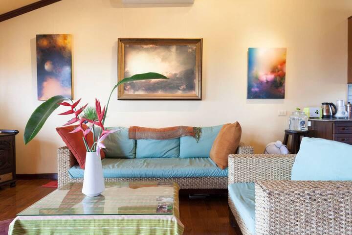 Thai Style Villa Townhouse Nestled in Lush Valley