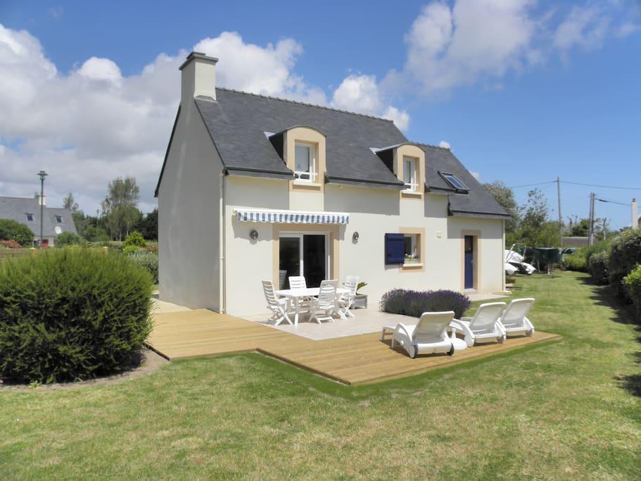 Maison type pecheur proche mer houses for rent in loctudy bretagne france - Maison pecheur bretagne ...