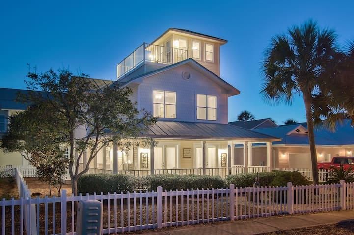 Paradise Cottage - 3bdrm+Tower, near pool & beach!