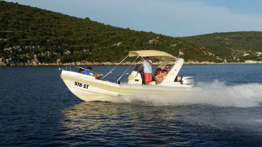 Speed Boat / Rib / for a Rent - Kaštel Lukšić - Barco