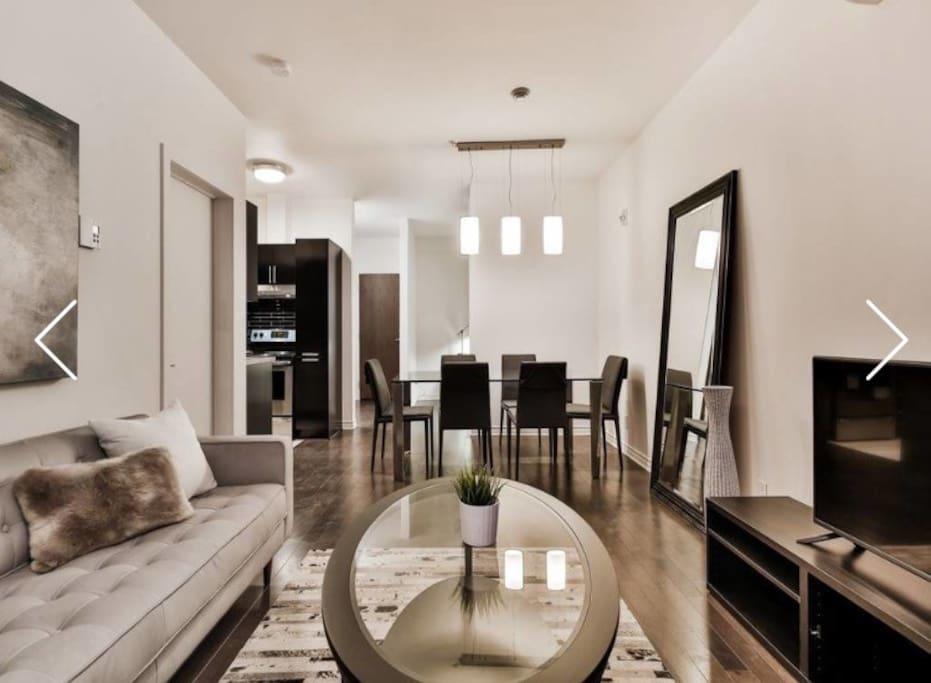 Luxury modern condo downtown mtl appartamenti in for Affitto di cabina vicino a montreal