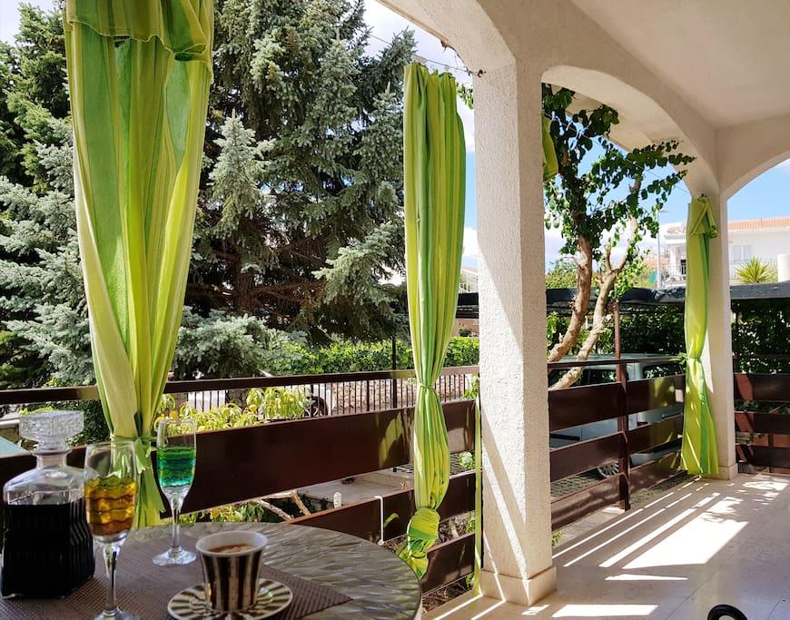 Big terrace for great summer enjoyment...