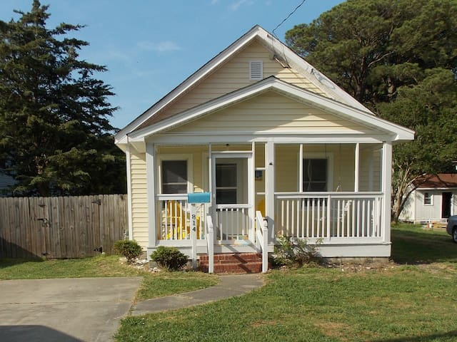 Charming 1948 Bungalow at Buckroe Beach.