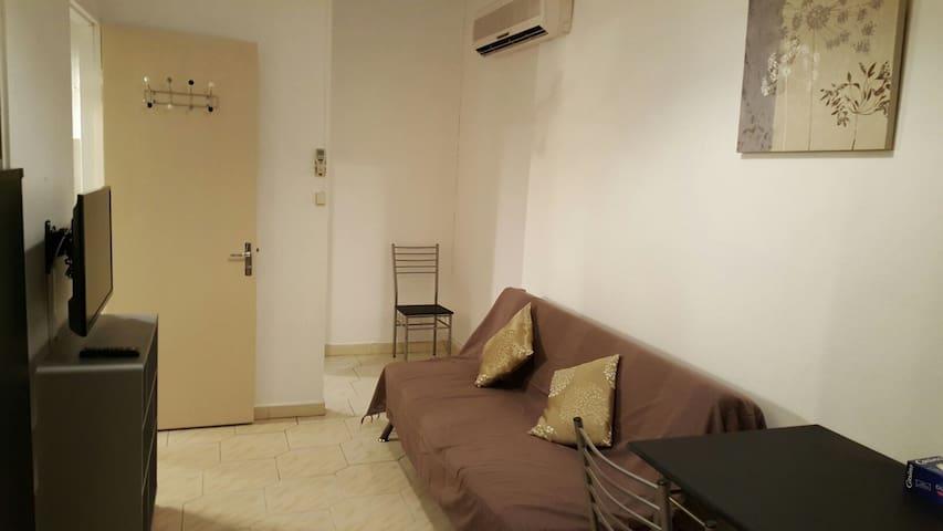 Appartement 2 pièces entièrement équipé
