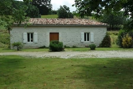 maison gascone rénovée dans une ferme tranquille - Beauville - Casa