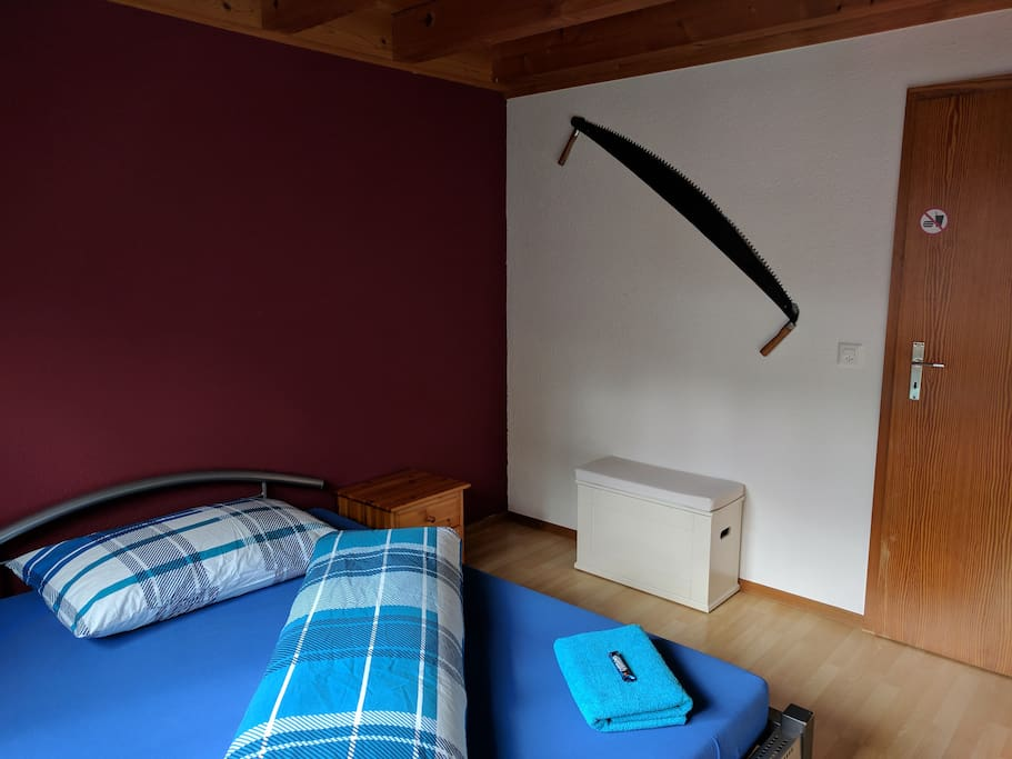 Private Room with Double Bet / Privates Zimmer mit Doppel