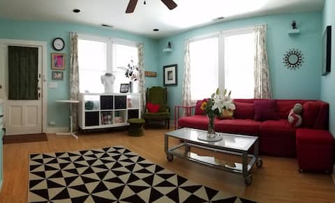 Personal Shangri-La, in the heart of downtown!