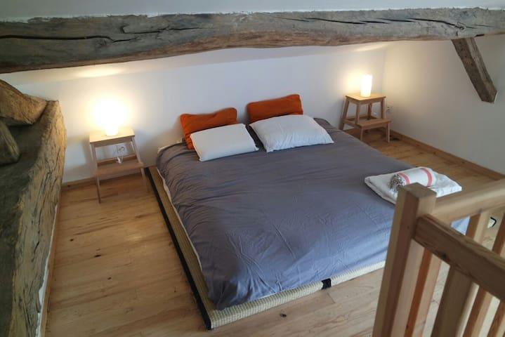 Appartement le long de la Dordogne