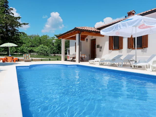 Holiday House Katuri in Labin for 6 persons