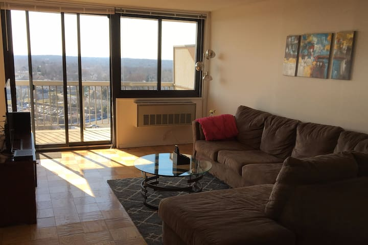 New Brunswick 1 Bedroom Apt - Amazing Balcony View - Franklin Township - Lägenhet