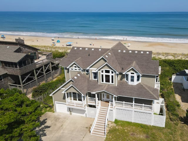 Duck Oceanfront with Private Heated Pool