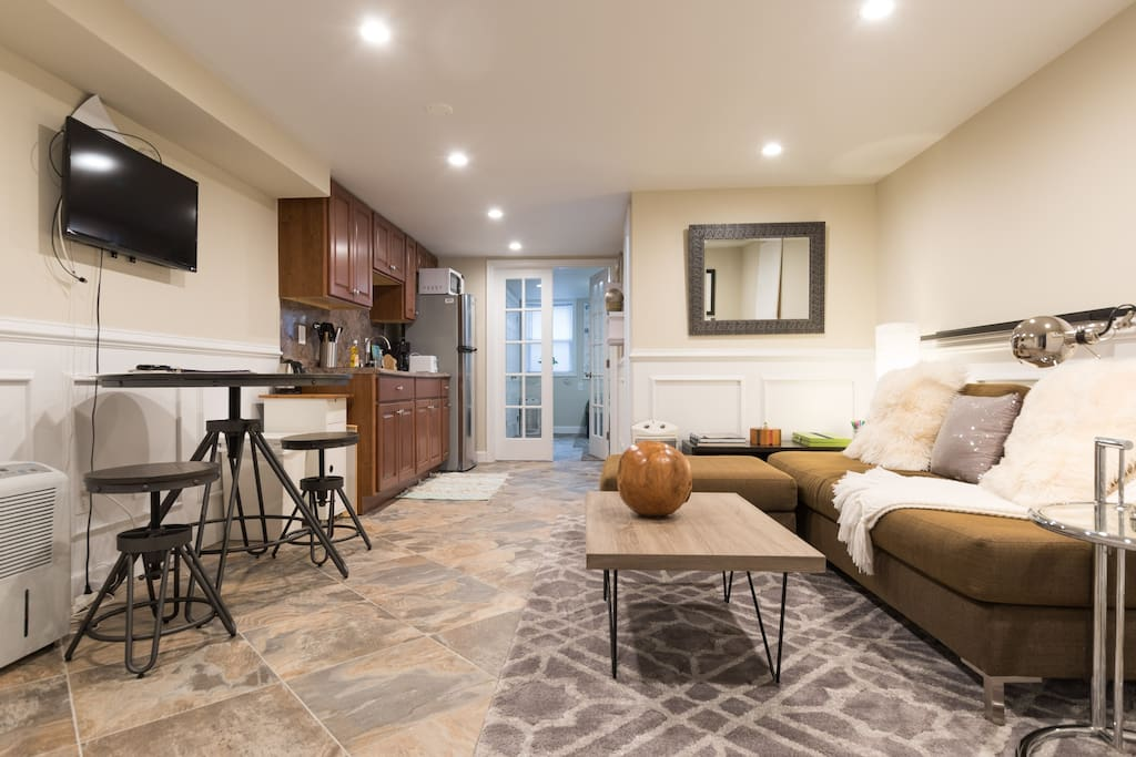 Large open living space