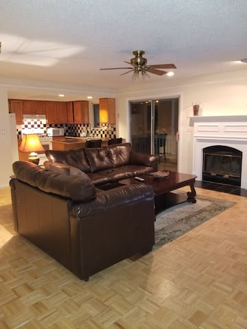 Large condo, great for your short or long stay.