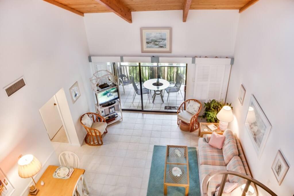 Aerial Living Room